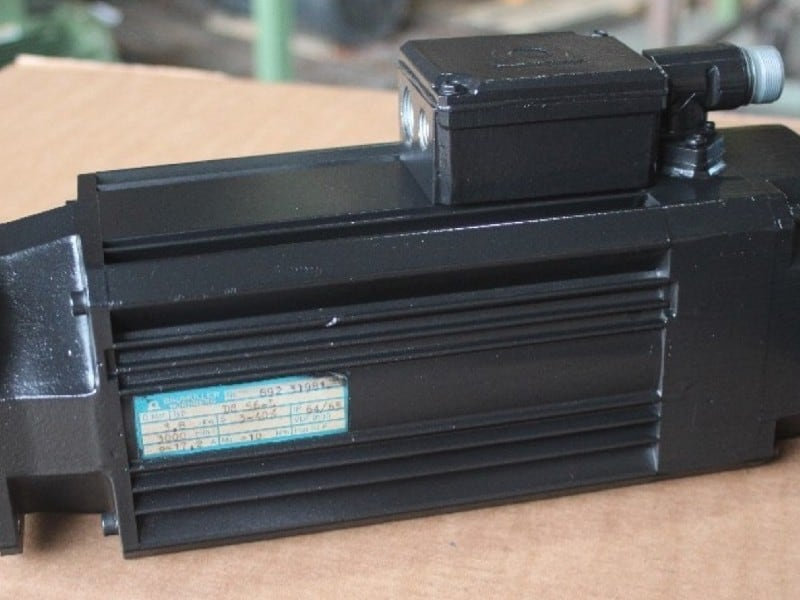 3. Bild Reparatur AC-Servo Getriebemotoren