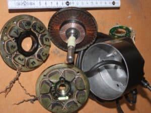 4. Bild Reparatur DC-Scheibenlaeufermotor