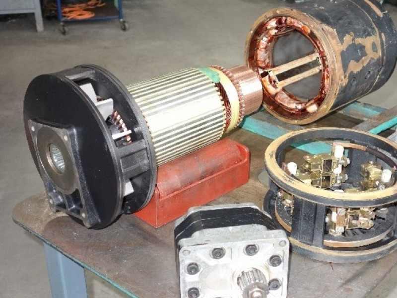 1. Bild DC-Staplermotoren