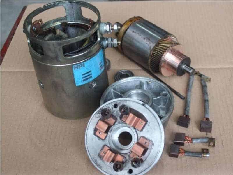 2 Bild DC-Staplermotoren