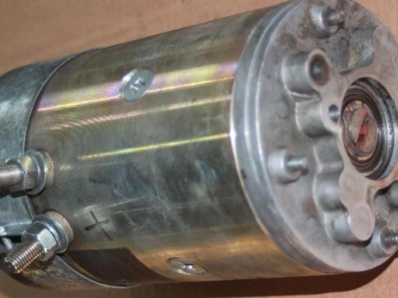 AC/DC-Staplermotoren