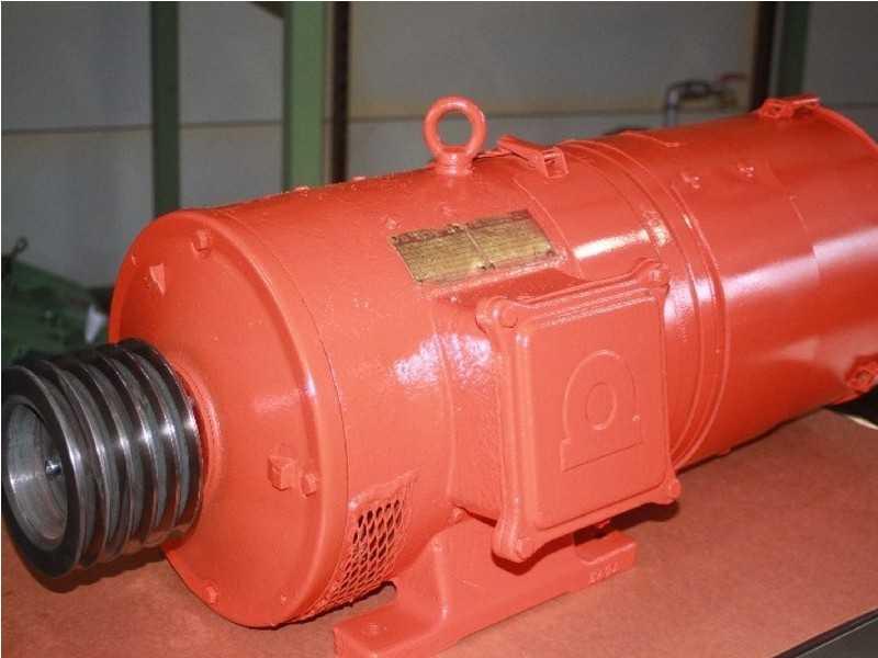 1. Bild Gleichstrom - Nebenschlussmotoren