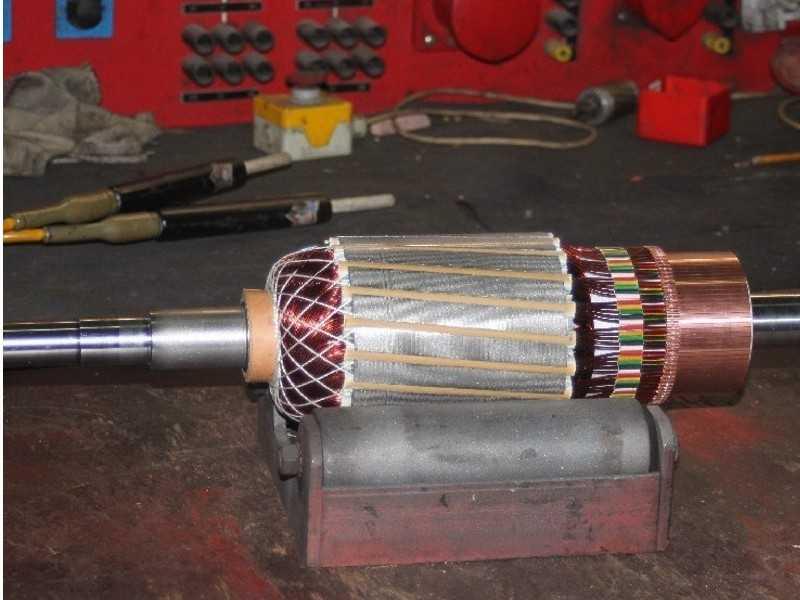 3. Bild Gleichstrom - Nebenschlussmotoren