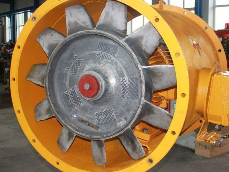 Lüfter Exhauster Gebläse reparieren