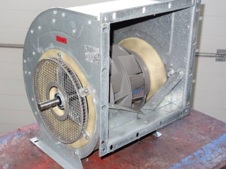 Gebläse Lüfter Exhauster reparieren