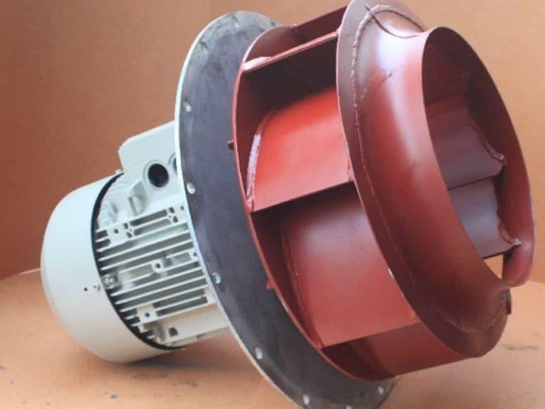 Exhauster Lüfter Gebläse reparieren