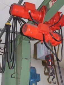 Reparatur Kranmotor