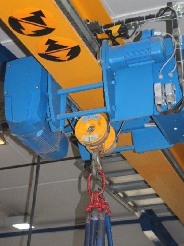 4. Bild Reparatur Kranmotor