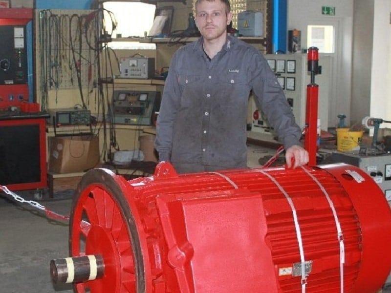 Bild 1: Reparatur von Drehstrom-Motoren - Bild 1