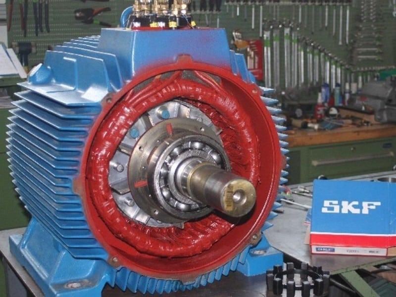 Reparatur von Drehstrom-Motoren - Bild 4