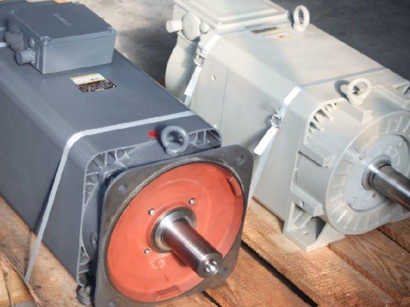1. Bild Hauptspindelmotor reparieren - Motorenansicht 1
