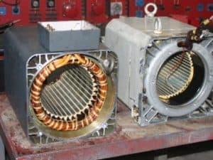 hauptspindelmotor reparieren - Motorenansicht 2