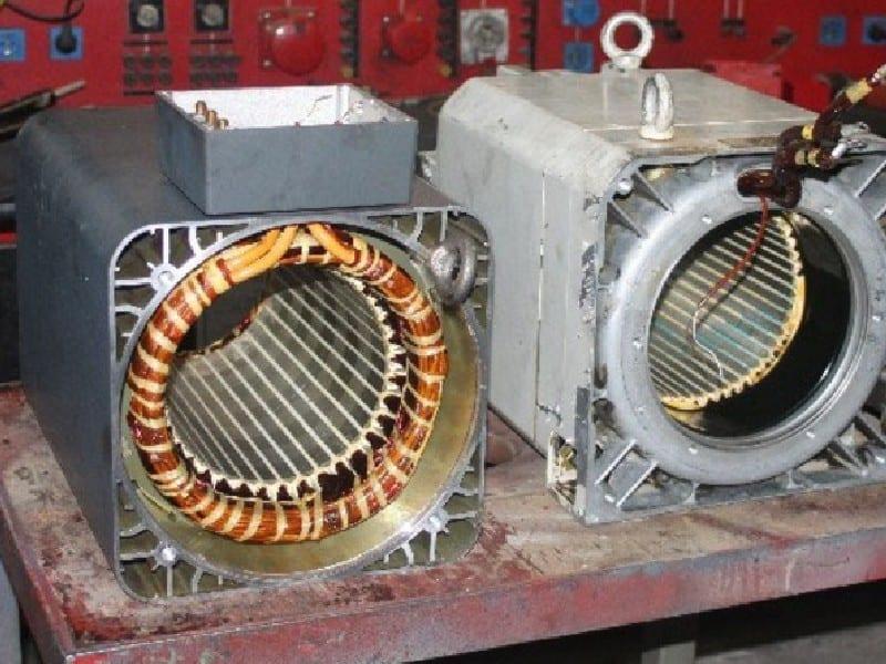 2. Bild Hauptspindelmotor reparieren - Motorenansicht 1