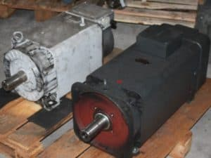 hauptspindelmotor reparieren - Motorenansicht 3
