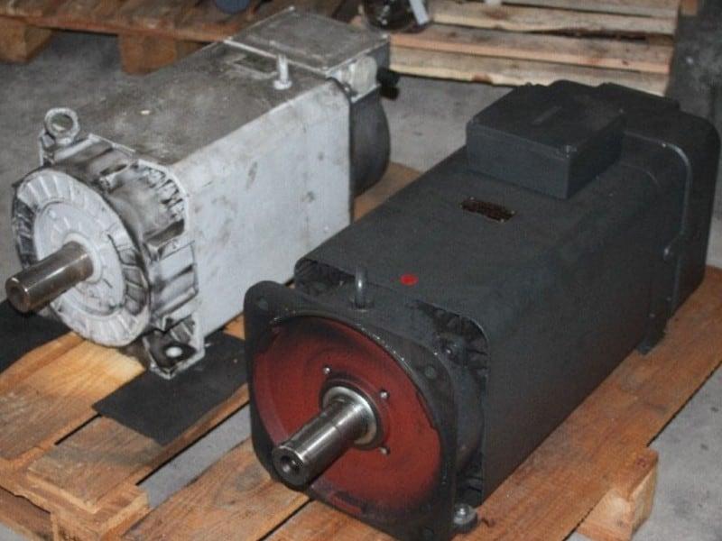 3. Bild Hauptspindelmotor reparieren - Motorenansicht 1