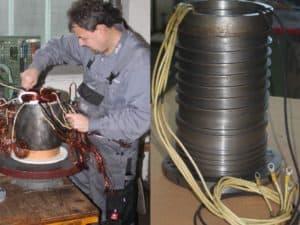 hauptspindelmotor reparieren - Motorenansicht 4