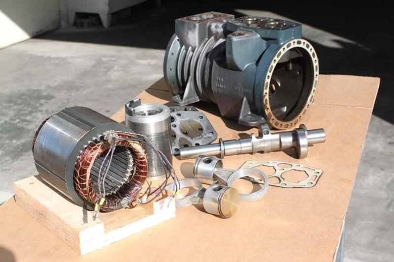 4. Bild Reparatur von Kälteverdichter / Kompressoren