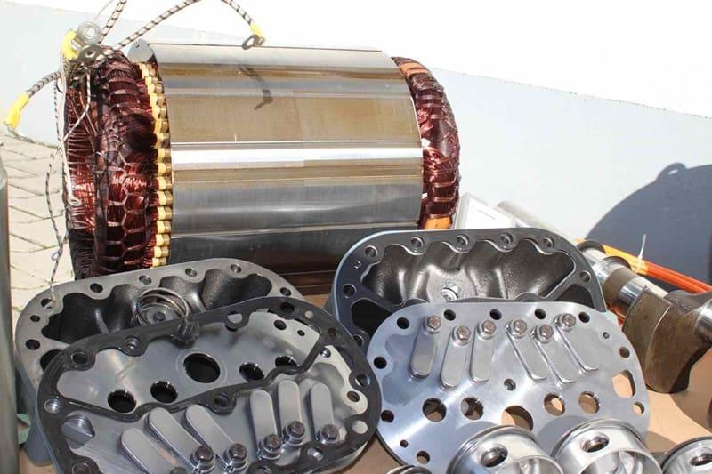 3. Bild Reparatur von Kälteverdichter / Kompressoren