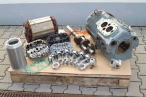 Reparatur von Kälteverdichter / Kompressoren