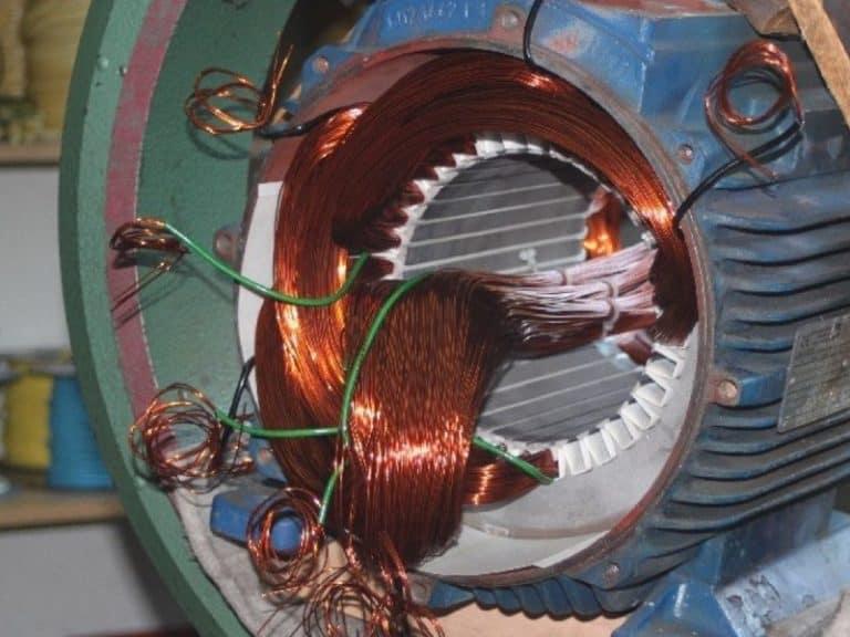 6. elektromotor neu wickeln