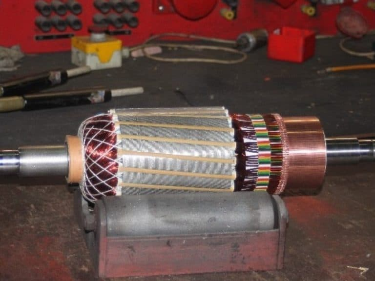 2. elektromotor neu wickeln