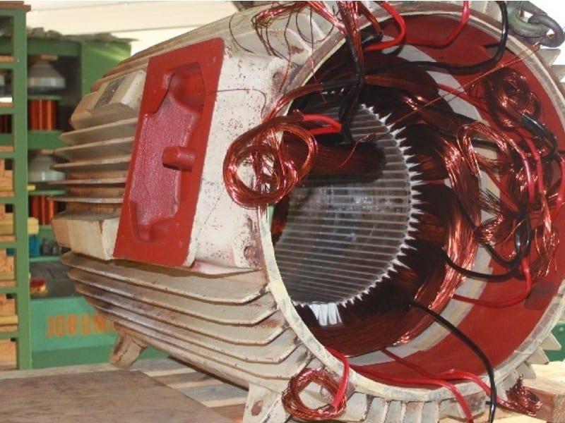 1. elektromotor neu wickeln