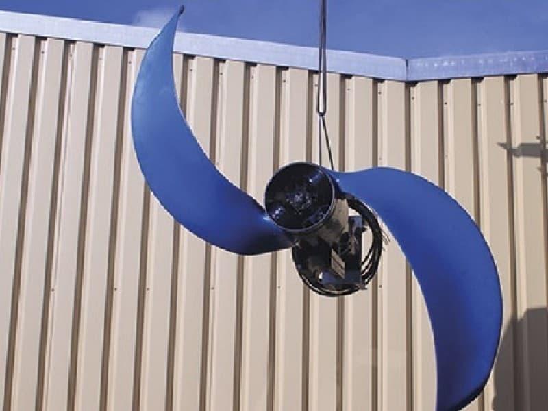 Reparatur Tauchrührwerk