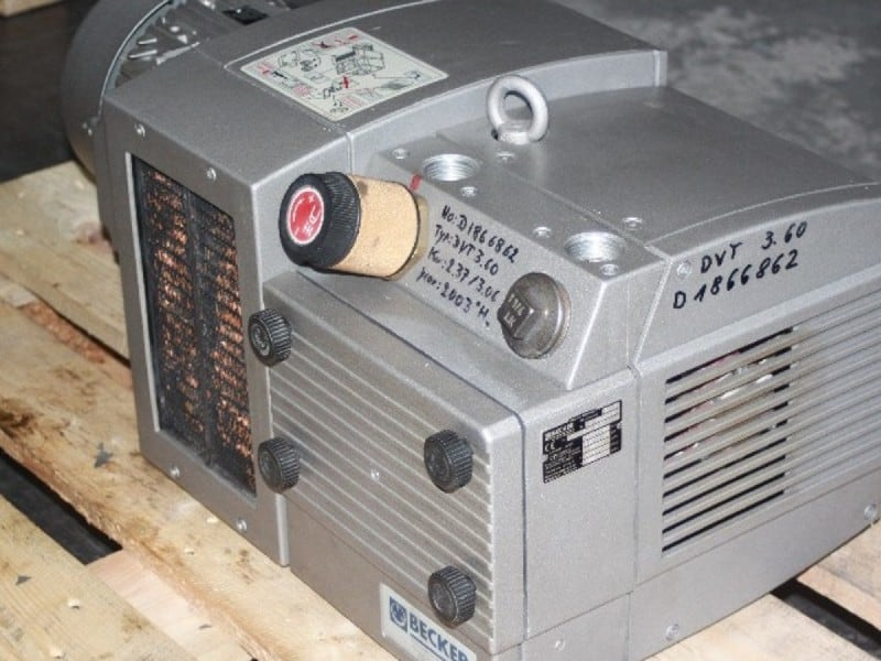 vakuumpumpe reparieren