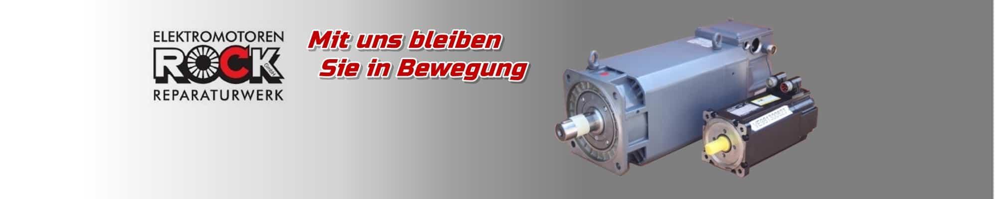 Reparatur von AC-Servo Motoren