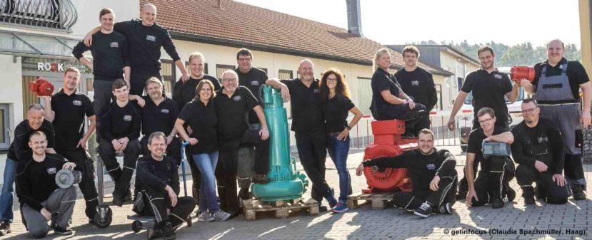Das Team von Elektromotoren Rock Reparaturwerk GmbH